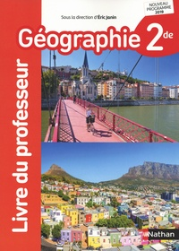 Eric Janin - Géographie 2de - Livre du professeur.