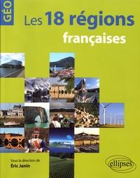 Deedr.fr Les 18 régions françaises Image