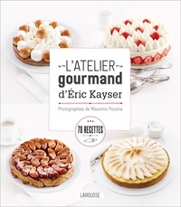 Eric Kayser et Blandine Boyer - L'atelier gourmand d'Eric Kayser.