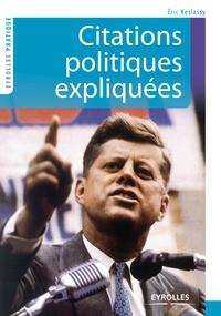 Eric Keslassy - Citations politiques expliquées.