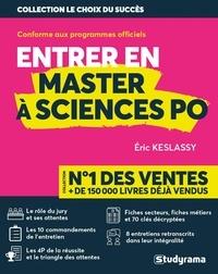 Eric Keslassy - Entrer en master à Sciences Po.