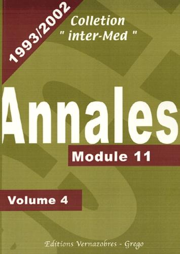 Eric Khayat - Annales 1993-2002 - Volume 4, Module 11.