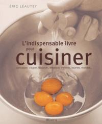 Deedr.fr L'indispensable livre pour cuisiner - Concasser, couper, déglacer, désosser, émincer, tourner, monder... Image