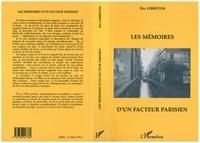 Eric Lebreton - Les mémoires d'un facteur parisien.