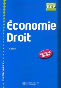 Eric Lemot - Economie Droit BEP 2e Professionnelle.