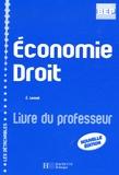 Eric Lemot - Economie Droit BEP Seconde professionnelle - Livre du professeur.