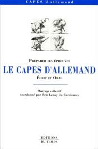 Le CAPES dallemand. Ecrit et oral.pdf