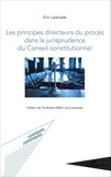 Eric Lestrade - Les principes directeurs du procès dans la jurisprudence du Conseil constitutionnel.