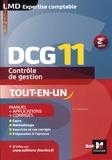 Eric Margotteau - Contrôle de gestion DCG 11 - Manuel + applications + corrigés.