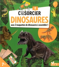 Eric Mathivet - Dinosaures - Avec 2 maquettes de dinosaures à assembler !.