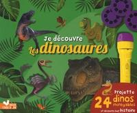 Je découvre les dinosaures - Projette 24 dinos incroyables et découvre leur histoire. Avec une lampe.pdf