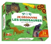 Eric Mathivet - Je découvre les dinosaures - Coffret avec lampe.