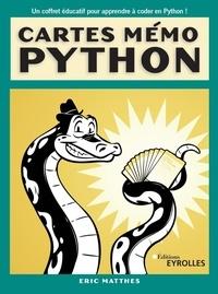 Eric Matthes - Cartes mémo Python - 101 cartes.