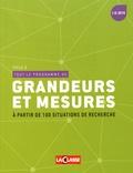 Eric Montigny - Tout le programme de grandeurs et mesures à partir de 100 situations de recherche - Cycle 2.