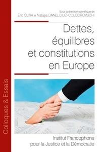 Eric Oliva - Dettes, équilibres et constitutions en Europe.