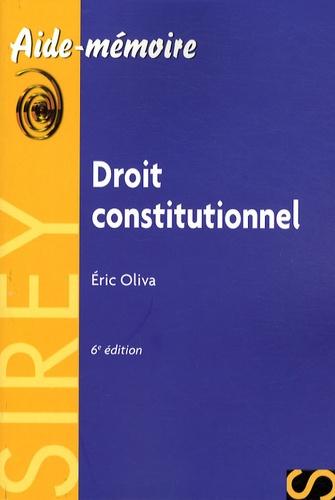 Eric Oliva - Droit constitutionnel.