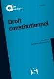 Eric Oliva et Sandrine Giummarra - Droit constitutionnel.