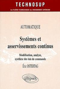 Systèmes et asservissements continus - Modélisation, analyse, synthèse des lois de commande.pdf