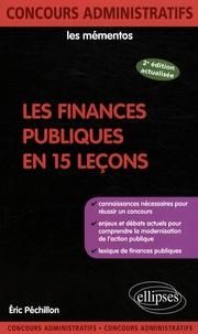 Eric Péchillon - Les finances publiques en 15 leçons.