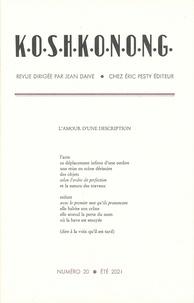 Jean Daive - Koshkonong N° 20 : .
