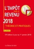 Eric Pichet - L'impôt sur le revenu - Théorie et pratiques.