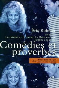 Eric Rohmer - Comédies et proverbes - Volume 1, La Femme de l'aviateur, Le Beau mariage, Pauline à la plage.