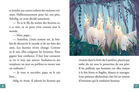 Le maître des licornes Tome 1 La forêt des lumières
