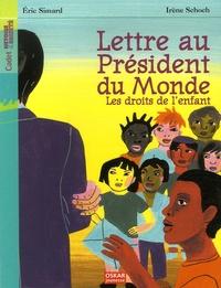 Eric Simard - Lettre au Président du  Monde - Les droits de l'enfant.