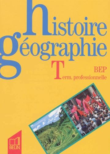 Eric Till et Rémy Knafou - Histoire géographie, BEP, term. professionnelle.