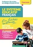 Eric Tisserand - Concours enseignement - Le système éducatif français en fiches mémos - 2018-2019 - Révision.