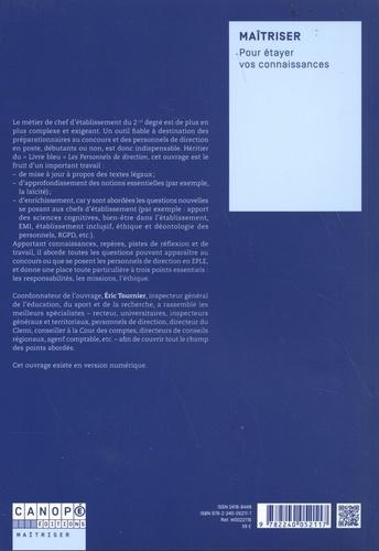 Les personnels de direction en EPLE. Responsabilités, missions, éthique