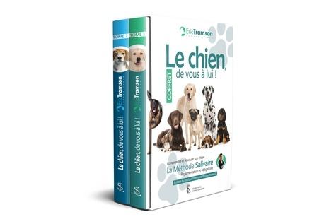 Eric Tramson - Le chien, de vous à lui ! - Coffret en 2 volumes : Tome 1 ; Tome 2. Comprendre et éduquer son chien ; La méthode salivaire ; Réglementations et obligations.