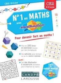 Livres électroniques gratuits télécharger N° 1 en maths avec Mathador CE2 9782035967466