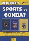 Eric Van Antwerpen et Jean-Christophe Damaisin d'Arès - Coffret 3 livres sports de combat - Etranglements et immobilisation ; Le Hapkido ; Jiu-Jitsu brésilien.