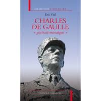 """Eric Vial - Charles de Gaulle """"portait-mosaïque""""."""