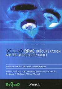 Eric Viel et Jean-Jacques Eledjam - Dequad RRAC (Récupération rapide après chirurgie).