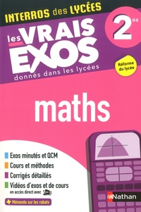 Boîte à livres électroniques: Maths 2de  - Les vrais exos donnés dans les lycées