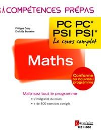Erick de Brauwère et Philippe Crocy - Maths 2e année PC PC* - PSI PSI*.