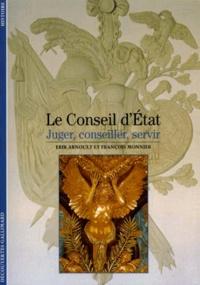 Histoiresdenlire.be LE CONSEIL D'ETAT. Juger, conseiller, servir Image