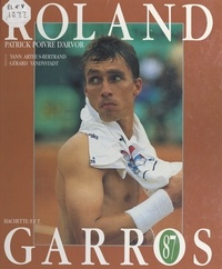 Erik Bielderman et Patrick Poivre d'Arvor - Roland Garros 87.