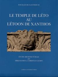 Erik Hansen et Christian Le Roy - Fouilles de Xanthos - Volume 11, Le temple de Léto au Létoon de Xanthos, 2 volumes.