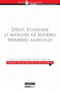 Histoiresdenlire.be Droit, économie et marchés de matières premières agricoles Image