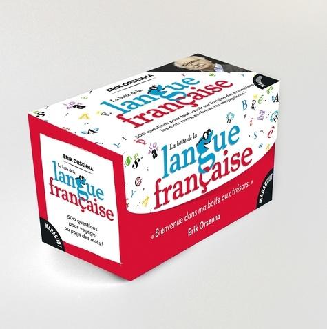 Erik Orsenna - La boîte de la langue française - Avec 150 cartes.