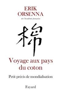 Erik Orsenna - Voyage aux pays du coton - Petit précis de mondialisation.