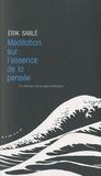 Erik Sablé - Méditation sur l'essence de la pensée - Un chemin vers la paix intérieure.