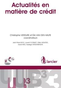 Erik Van den Haute - Actualites en matière de crédit.
