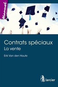 Erik Van den Haute - Contrats spéciaux - La vente.