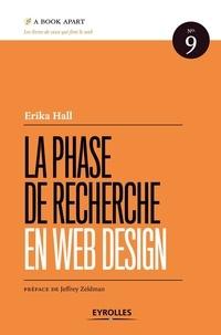 Erika Hall - La phase de recherche en web design.