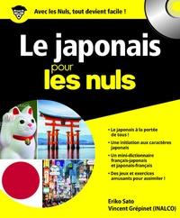Eriko Sato et Vincent Grépinet - Le japonais pour les nuls. 1 CD audio MP3