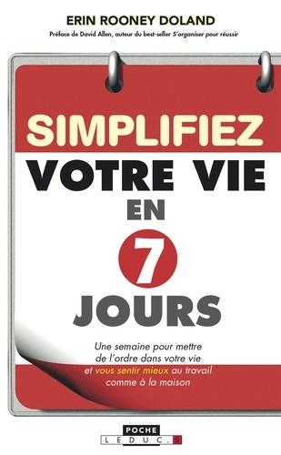 Simplifiez votre vie en 7 jours - 9791028505813 - 5,99 €